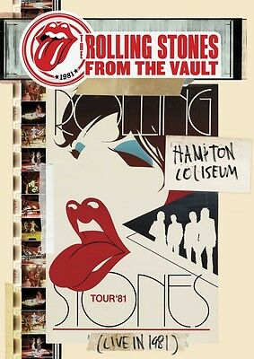 Rolling Stones From The Vault Hampton Coliseum 81 Japon DVD + 2cd With Repérage