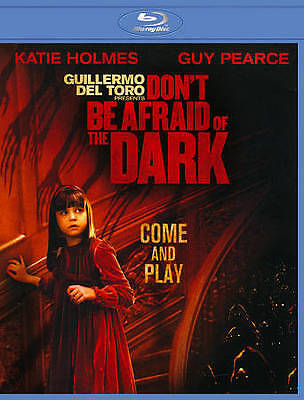 DON'T BE AFRAID OF THE DARK Guillermo del Toro (BLU-RAY, 2012) KatIe Holmes NEW