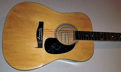 LINDSAY ELL Signed New Acoustic Guitar Trippin' on Us Criminal Waiting You w/COA