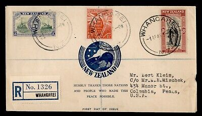 Dr Who 1946 New Zealand Whangarei Registered C91377