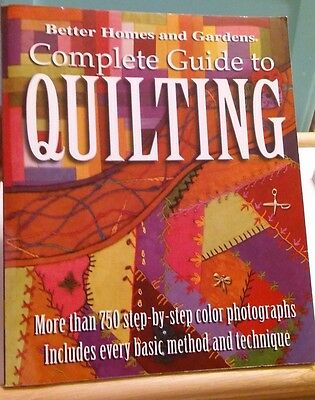Quilting Books Singer Quilting Bible Better Homes Garden Complete Gd To Quilting