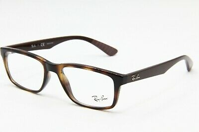 976495730a1 New Ray-Ban Rb 7063 5577 Havana Authentic Eyeglasses Frame Rb7063 52-18 W