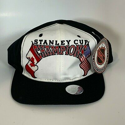822dda4c520 Starter Vintage 1995 Stanley Cup Champions Snap Back Hat Rare Blank Dead  Stock