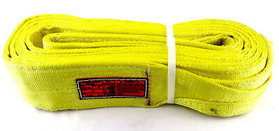 EE2-904 X19FT Nylon Lifting Sling Strap 4 Inch 2 Ply 19 Foot USA Free Shipping