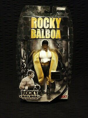 "Rocky Balboa ""THE ITALIAN STALLION"" 2006 Original Release Jakks Pacific - Sealed"