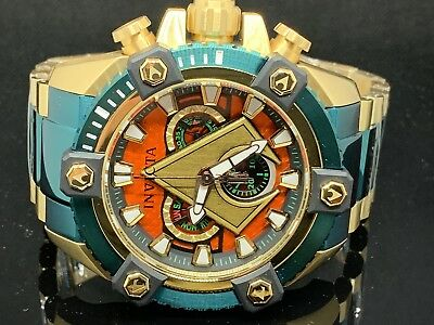 Invicta DC Comics Aquaman Grand Arsenal 63mm Ltd Ed Swiss Movement Watch