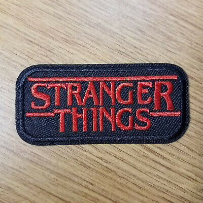 Stranger Things Logo Name Patch 3 1/4 inches wide cosplay prop costume