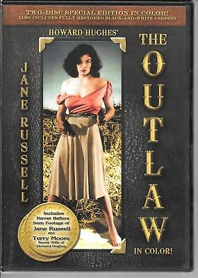 Howard Hughes' The Outlaw (1943), Jane Russell, Special Edition USED DVD