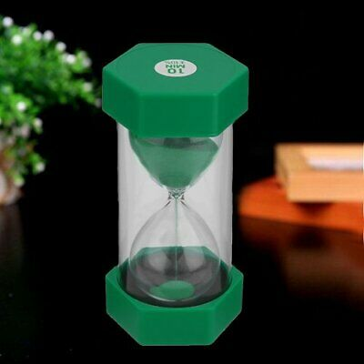 10 Minute Hourglass Timer Glass Sand Egg Timing Precise Sand Clock Gift Decor WX
