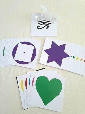 HEALING I - CARDS - COLOUR HEALING sacred symbols, Kinesiology, EFT tapping.