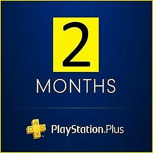 2 Month PS Plus PlayStation PSN PS4  (4x14 Days) No Code