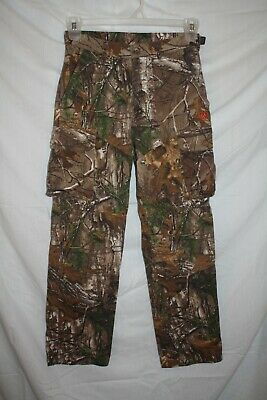 5f7e6133380a6 Men's Small, Game Winner Realtree Xtra camouflage pant, adj waist, org.  $29.99