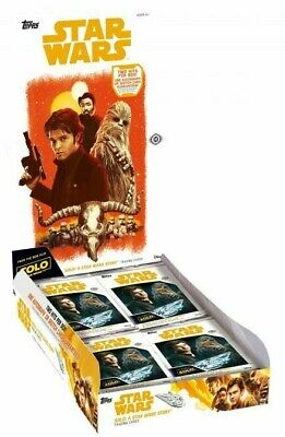 Solo: A Star Wars Story Hobby Box (Topps 2018) New & Sealed