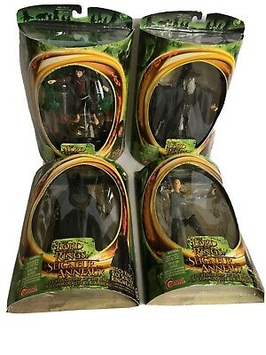 Toy Biz 2001 Lord of the Rings Fellowship of the Ring Lot Of 4 Figures NIB