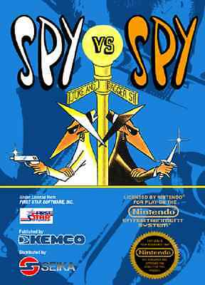 Nintendo Entertainment System NES Spy vs. Spy (GAME CARTRIDGE ONLY)
