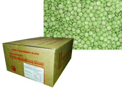 Choc Drops - Green (12kg Box)