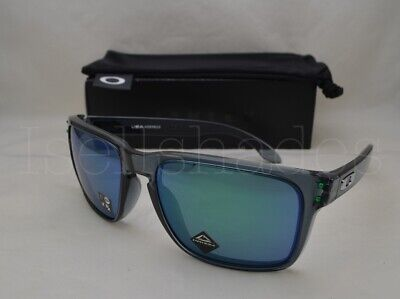 02888e65f0499 OAKLEY HOLBROOK XL (OO9417-14 59) Crystal Black with Prizm Jade Lens ...