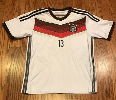 6c15763a Thomas Muller #13 Germany National Team Soccer Football Club Jersey Youth  Large