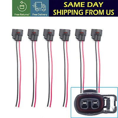 Surprising 6X Ignition Coil Connector Harness Plug Wire Pigtail For Chrysler Wiring Digital Resources Remcakbiperorg