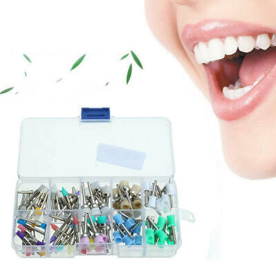 Mixed Types Disposable 100 PCS Dental Prophy Brush Cup Polishing Polisher