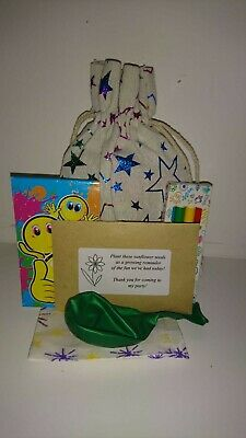 12 Eco Friendly Unisex Prefilled Kids Party Bags Fillers - No Plastic