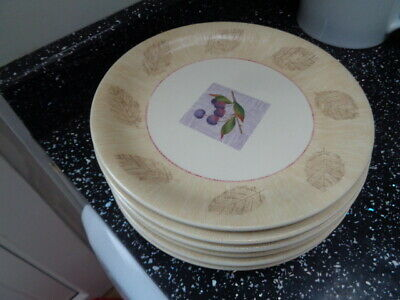 Marks And Spencer Wild Fruits Salad Plates X 6