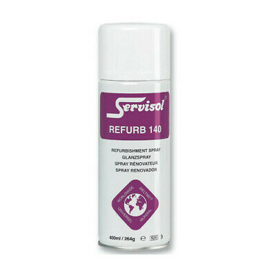 SERVISOL REFURB SPRAY 140 SILICONE RESIN REFURBISHMENT SPRAY 400ml