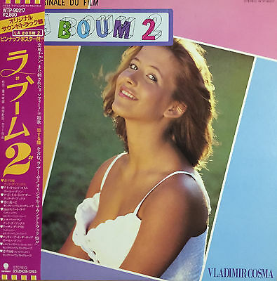 With Obi Poster Sexy Cover Sophie Marceau Ost La Boum 2 Wtp-90217 Nm