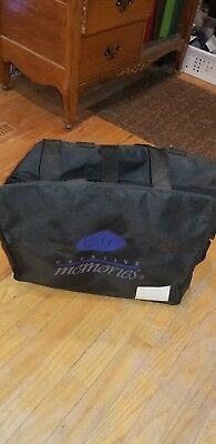 Creative Memories Weekender Memory Mate Scrapbook Tote Bag new but few marks