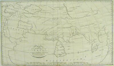 Neele: Map of the South East part of Asia according to Ptolemy, ca. 1794