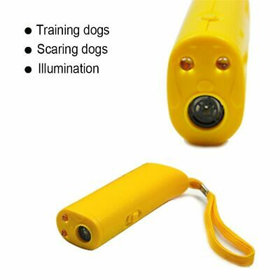 Ultrasound Dog Training Repeller Control Trainer Device 3 in 1 Anti-barking Stop