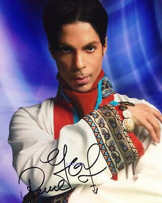 PRINCE #4 REPRINT SIGNED 8X10 PHOTO AUTOGRAPHED PICTURE CHRISTMAS GIFT MAN CAVE
