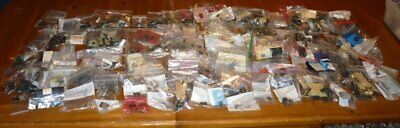 Huge Lot Vintage Electronic Parts IC Transistor Diode Capacitor  ++ 19C051