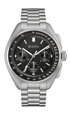 AUTHORIZED DEALER Bulova 96B258 Men's Special Edition Lunar Pilot 45mm Watch