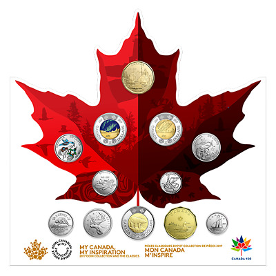 2017 My Canada 150th Birthday My Inspiration 12 Coin Set SOLD OUT at Canada Mint