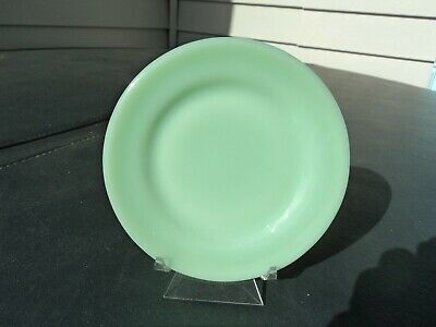 Fire King Jade-Ite Jadite Green Restaurant Bread & Butter Plates