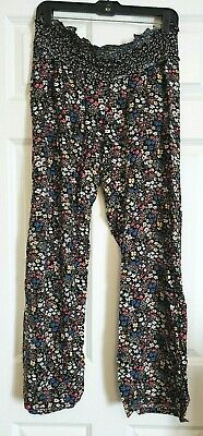 ceeb70964213f Jessica Simpson for Motherhood Maternity Pants Large L Under Belly Comfy EUC