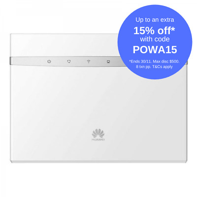 Huawei B525 4G WiFi Router - White