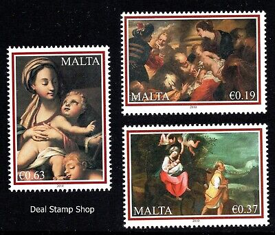 Malta 2010 Christmas Complete Set  Unmounted Mint