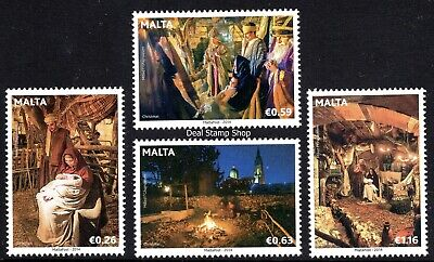 Malta 2014 Christmas Complete Set  Unmounted Mint
