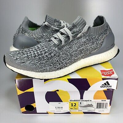 a267bf02cbe Adidas Ultra Boost Uncaged Size 12 grey black white bb3898 1 2 3 4 ub nmd