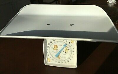 Vintage 1950's Sears Nursery Baby Scale Complete with Cradle