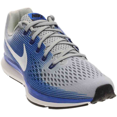 98370e372b0f Nike Air Zoom Pegasus 34 Running Shoes New Gray Blue Mens 12 New 880555-007