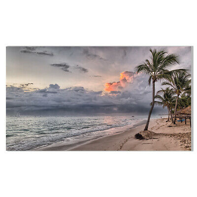 Caribbean Ocean Beach Canvas Painting Poster Picture Living Room Home Wall Decor