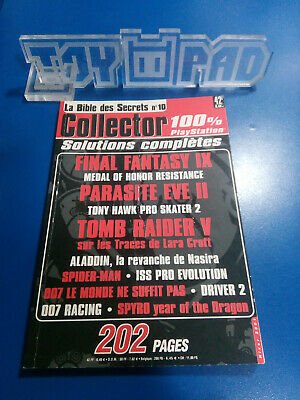 Magazine Playmag Hiver 2001 - La Bible des Secrets Collector 10 100% Playstation