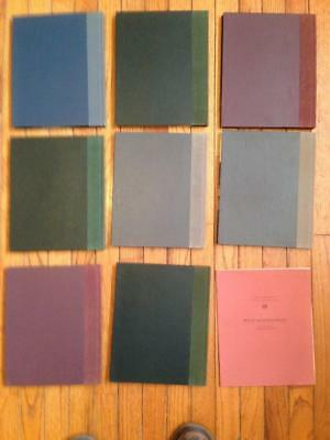 Vintage Lot 8 Time Life Books The Great Ages of Man + RARE Intro Pamphlet!  VGC