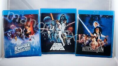 Star Wars Theatrical/Despecialized Trilogy Blu-Ray + Documentaries (6 Disc Set)