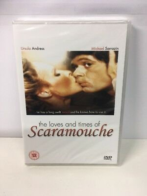 THE LOVES AND TIMES OF SCARAMOUCHE. New Sealed. UK Region 0. RARE URSULA ANDRESS