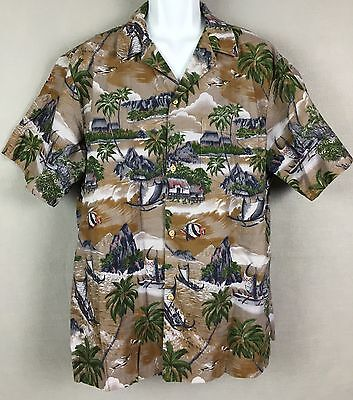 RJC Mens Surfing Diamond Head Hawaiian Shirt