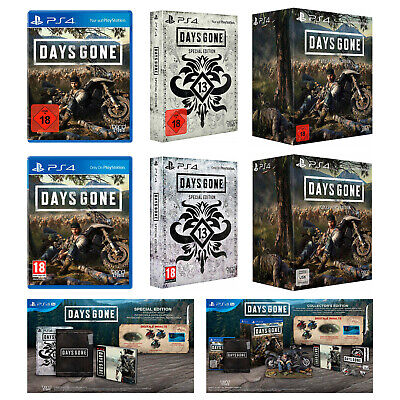 Days Gone | + Pre Order | Standard / Special / Collectors Edition | NEU & OVP |